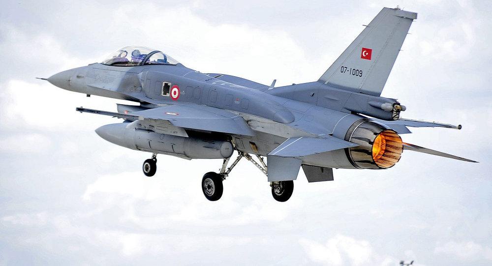 Resultado de imagen de derribo el lunes del avión turco F-16