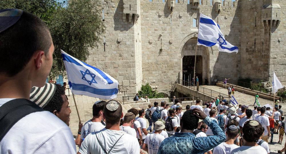 Marcha con motivo del Día de Jerusalén (archivo)