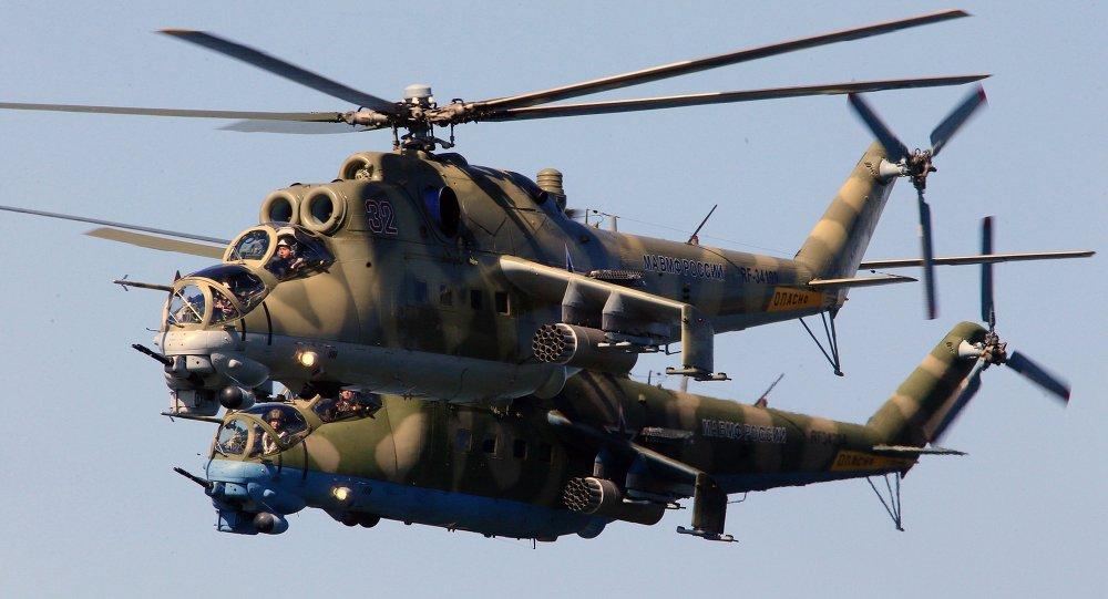 Resultado de imagen para Rusia también usa helicópteros para atacar al EI en Siria