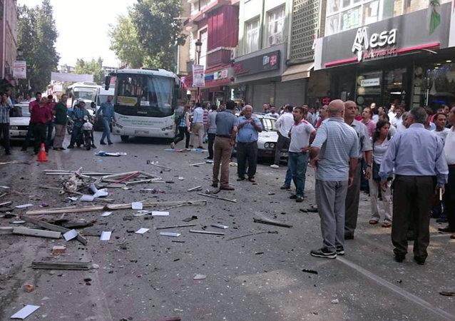 Atentado en la oficina de CHP en Mersin (Turquía), 18 de mayo de 2015