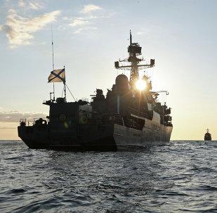 El buque patrullero Yaroslav Mudry