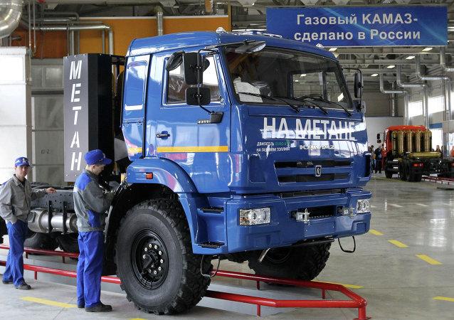 Camión Kamaz