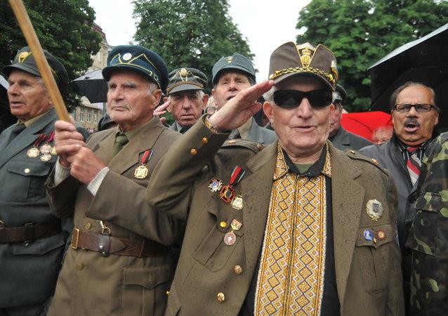 Veteranos del Ejército Insurgente Ucraniano (UPA)