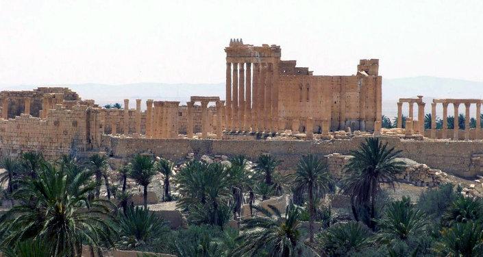 Palmira, Siria, el 17 de mayo, 2015