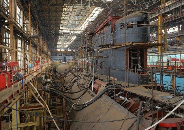 Astilleros de Amur (archivo)