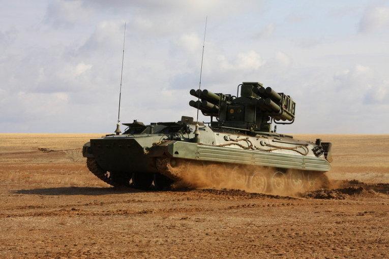 Sistema antiaéreo móvil Sosná