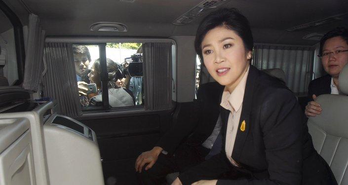 Yingluck Shinawatra, exprimera ministra de Tailandia