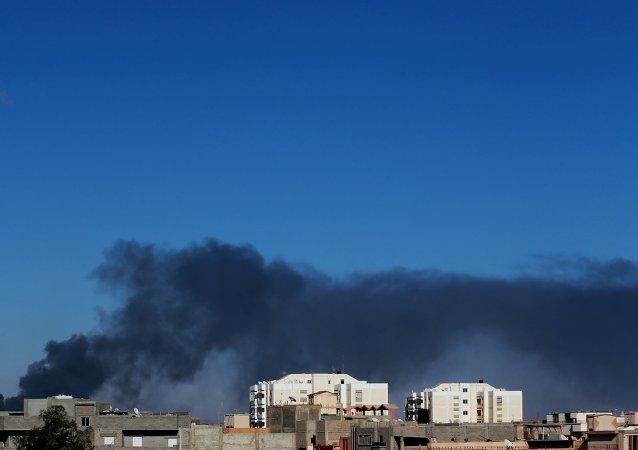 Situación en Bengasi, Libia (archivo)