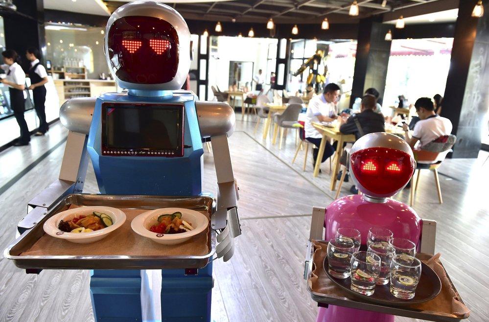 Robots se imponen en el mercado de trabajo