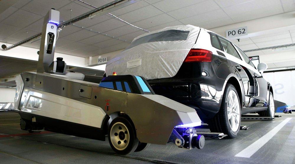 El robot de aparcamiento Ray