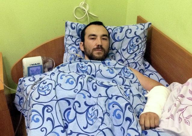 Yevgueni Yeroféev, uno de los rusos detenidos en Donbás
