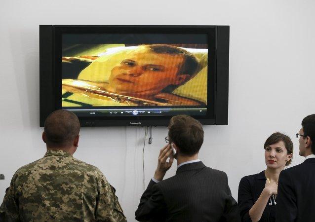 Kiev investiga las razones y los objetivos en Lugansk de los dos rusos detenidos