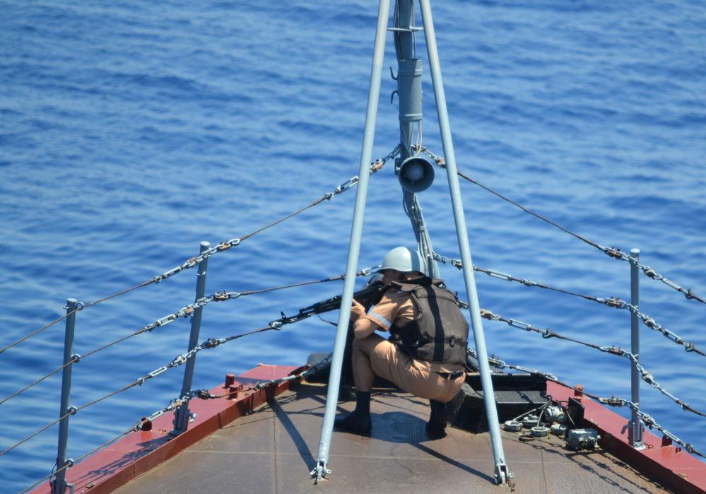 Rusia y China realizan maniobras navales en el Mediterráneo