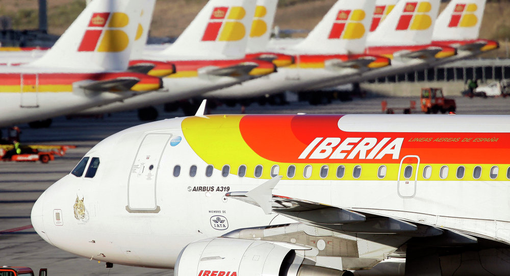 Los trabajadores de tierra amenazan con paralizar El Prat — Iberia