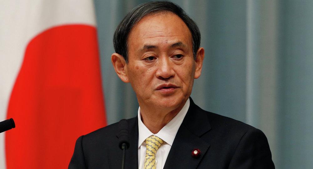 Yoshihide Suga, secretario general del Gobierno de Japón