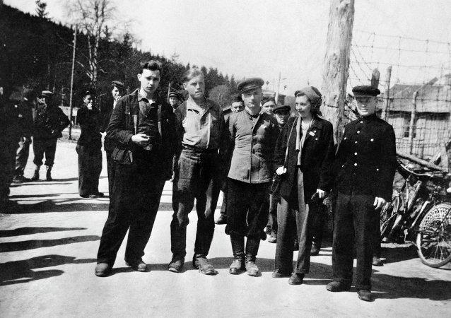 Prisioneros de guerra soviéticosicos de la Segunda Guerra Mundial