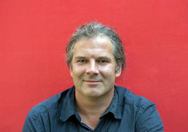 Andrej Hunko, diputado en el Parlamento alemán por La Izquierda (Die Linke)