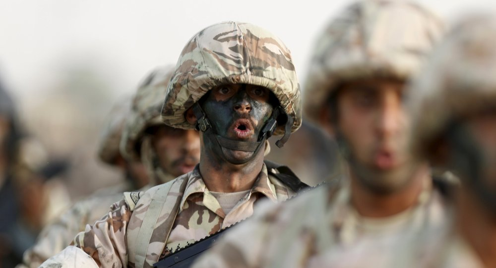 Soldados saudíes (archivo)