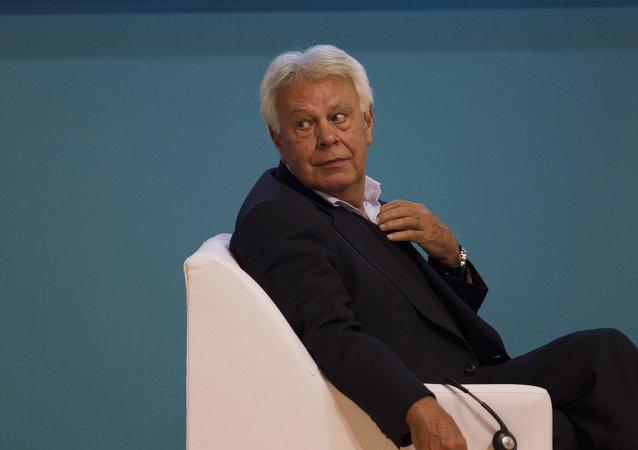 Felipe González, expresidente de España (Archivo)