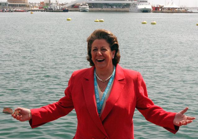 Rita Barberá, alcaldesa de Valencia (archivo)