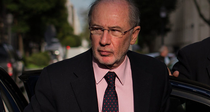 Rodrigo Rato, exdirector gerente del FMI (archivo)