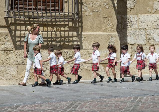 Escolares en España