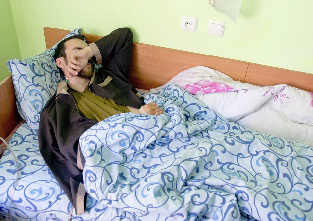 Evgueni Eroféev, uno de los ciudadanos rusos detenidos en Ucrania