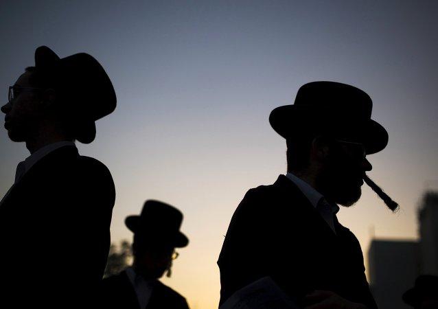 Judíos ultraortodoxos (imagen referencial)
