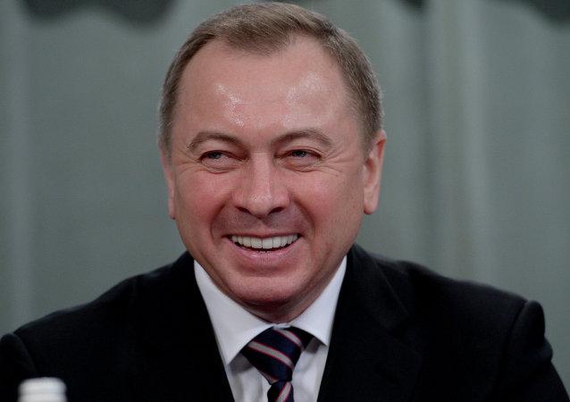 Vladímir Makéi, ministro de Exteriores de Bielorrusia