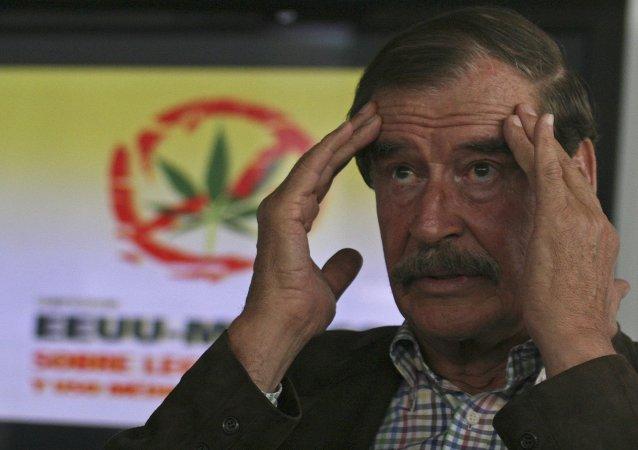 El expresidente de México participa en un simposio sobre la legalización de la marihuana en EEUU