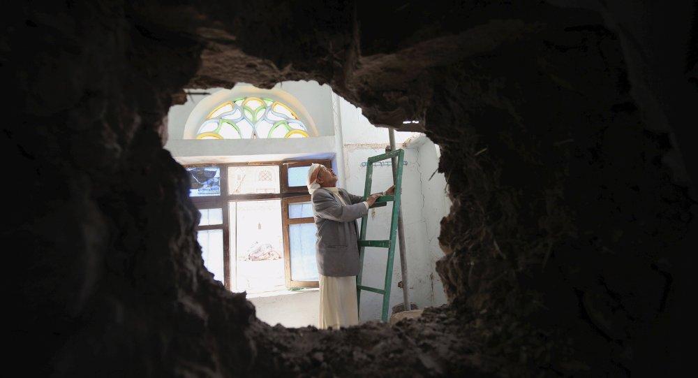 Situación en Saná, Yemen
