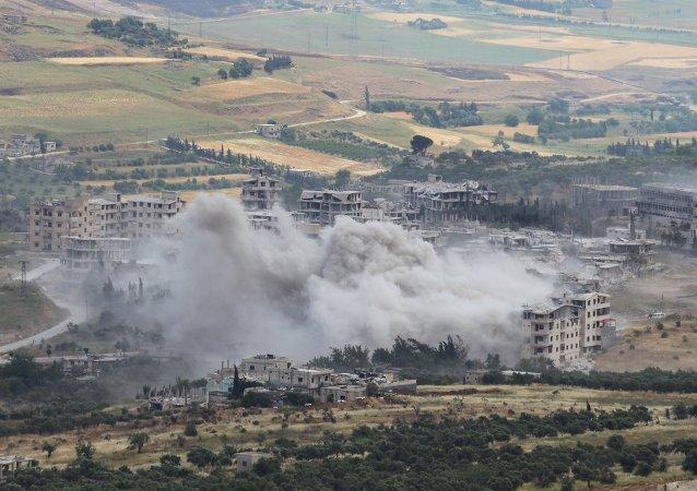 Situación en Idlib, Siria (archivo)
