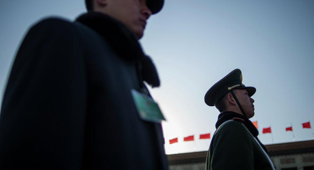 Policías chinos (archivo)