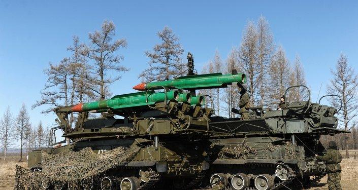 Учения войск ПВО Восточного военного округа