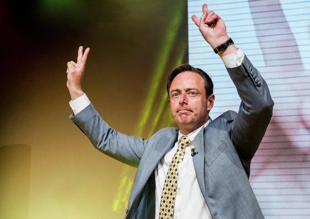 Bart De Wever, líder del partido de centro derecha Nueva Alianza-Flamenco