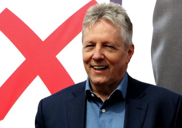 Peter Robinson, ministro principal de Irlanda del Norte