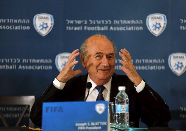 Sepp Blatter, presidente de la FIFA