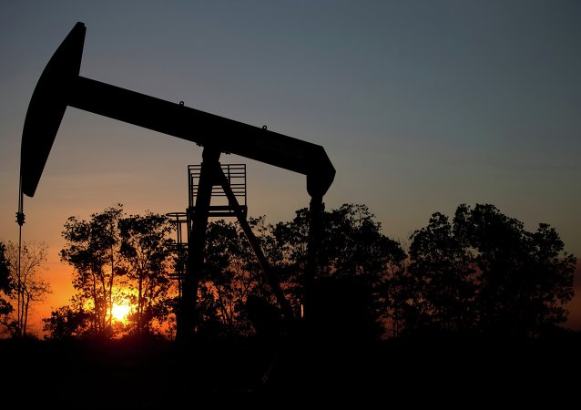 Pozo de petróleo cerca de El Tigre, una ciudad dentro de la Faja Petrolífera del Orinoco