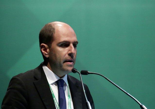 Sergio Jadue, presidente de la Asociación Nacional de Fútbol Profesional de Chile