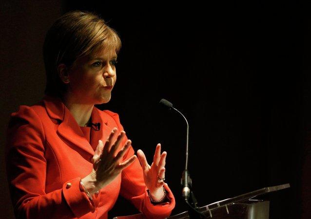 Nicola Sturgeon, ministra principal del Gobierno de Escocia