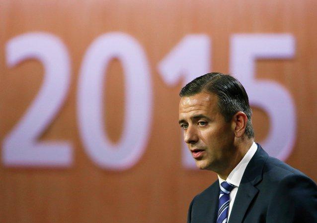 Markus Kattner, director financiero de la FIFA