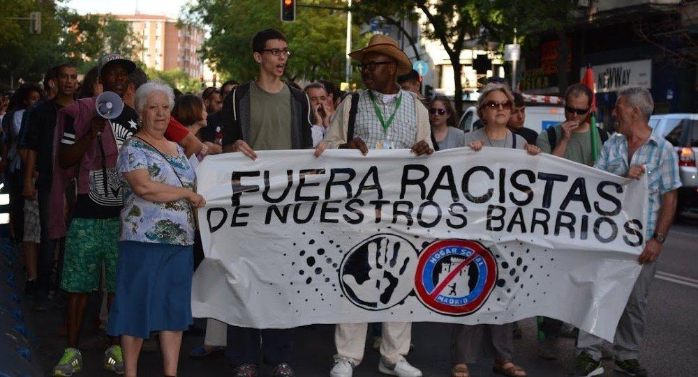 Los barrios de Madrid, en lucha contra los neonazis