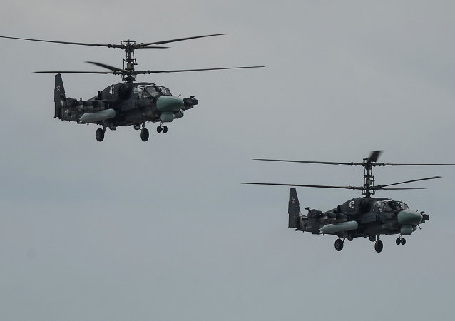 Helicópteros Ka-52 Alligator