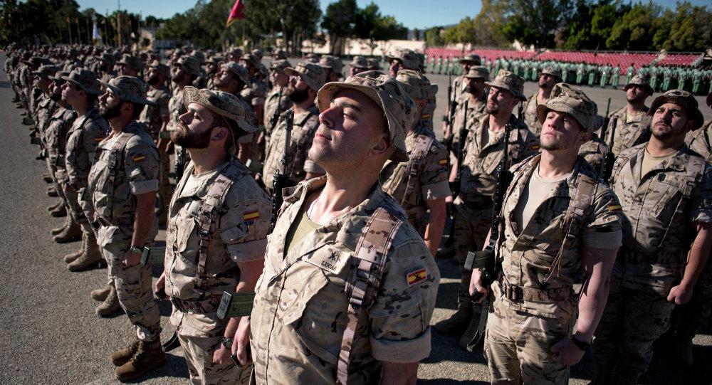 Militares españoles (archivo)