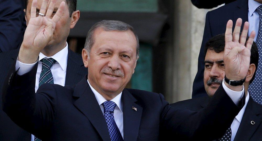 Recep Tayyip Erdogan,presidente de Turquía