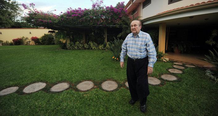 Nicolás Leoz, expresidente de la Confederación Sudamericana de Fútbol