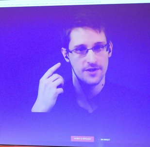 Edward Snowden, excontratista de la CIA refugiado en Rusia (archivo)