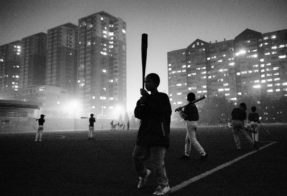 Jóvenes jugadores de béisbol