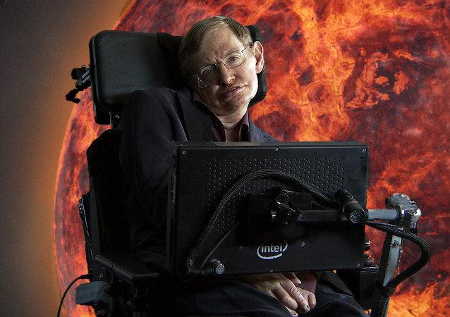 Stephen Hawking, científico británico