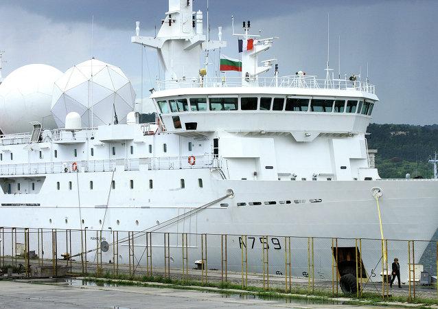 Buque de la Armada francesa (imagen referencial)
